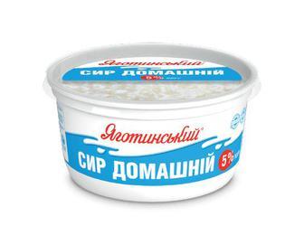 Сир домашній 5% жиру «Яготинський» 370г