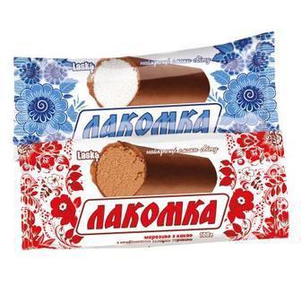 Морозиво Лакомка, Ласка, 100 г