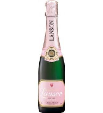 Вино ігристе Lanson Rose Label брют рожеве 0,375л 12,50%