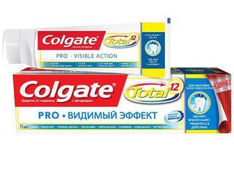 Паста зубна Colgate Total 12 PRO «Видимий ефект» 75мл