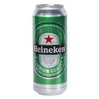 Пиво 0,5л 5% світле Heineken