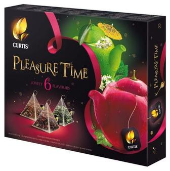Набір чаю Curtis Pleasure time 6*5*1,7г