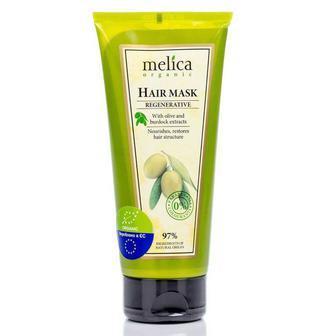 Регенерирующая маска для волос Melica с экстрактами лопуха и масла, 200 мл