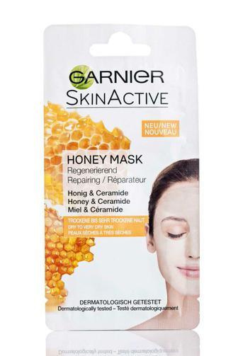 Маска для лица Garnier восстанавливающая для сухой и очень сухой кожи с медом, 8мл