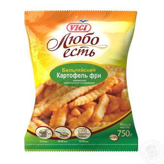Скидка 37% ▷ Картопля фрі Vici 9/9мм 750г