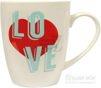 Чашка Love 360 мл 21-272-021 Keramia