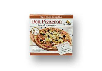 Піца з салямі та грибами  Don Pizzeron  350 г