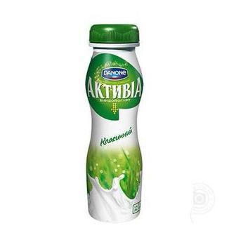 Йогурт питний Активіа 1,5% Danone 580 г
