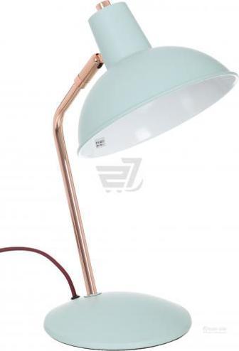 Настільна лампа офісна Accento lighting ALB-LT1806-190-TQ 1x40 Вт E14 блакитний