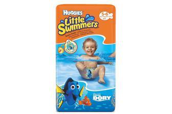 Підгузки-трусики для плавання Huggies Little Swimmers 5-6 (12-18 кг) 11 шт./уп
