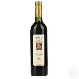 Вино Алазанська долина біле,червоне напівсолодке Вардіані 0,75 л
