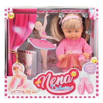 Говорящая кукла Bambolina Nena Маленькая балерина, 36 см (укр)