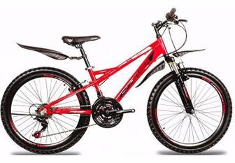 """Велосипед Premier Eagle 24 13"""" красный с черн-бел"""