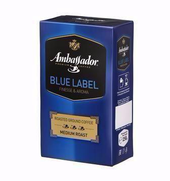 Кава мелена Blue Label Ambassador 250г