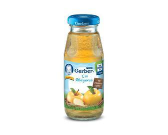 Сік Gerber, з вітаміном С, без додавання цукру яблучний, 175 г
