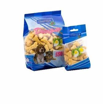 Десерти для собак, 550 г Природа