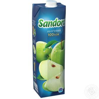 Сік Sandora яблучний 1л