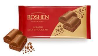 Шоколад пористий темний молочний 85г