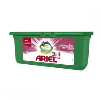 Скидка 46% ▷ Капсулы для стирки ARIEL Pods 3in1 Touch of Lenor Fresh, 30шт