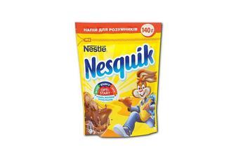 Какао-напій Шоколадно-молочний коктейль Nesquik 140 г