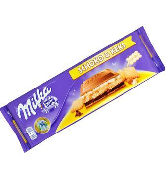 Шоколад Schoko&Keks Milka 300г