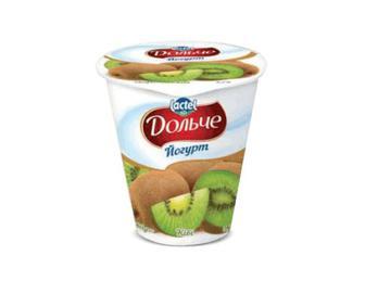 Йогурт «Дольче» 3,2% жиру ківі, 280г