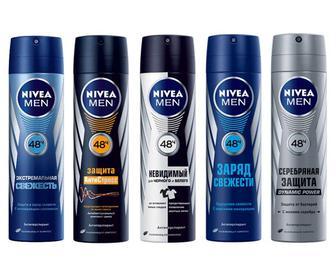 Мужской дезодорант для тела Нивея Nivea