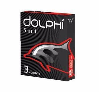 Презервативы Dolphi 3в1 №3