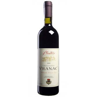 Вино Plantaze Vranac червоне сухе 0.75л