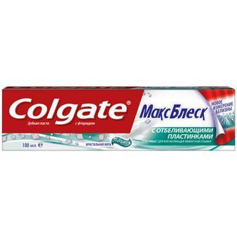 Зубна паста Colgate Макс Блиск кристальна м`ята 100мл