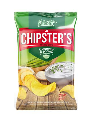Чіпси CHIPSTERS 70 г