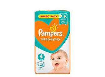 Подгузники PAMPERS Sleep & Play р4 9-14кг 68шт