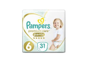 Підгузки-трусики Pampers Premium Care Pants Extra Large 15+ кг 31 шт./уп