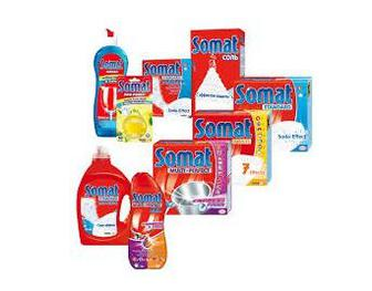 Средства для мытья посуды Somat