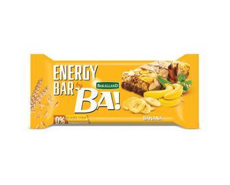 Батончик Bakalland злаковий банан, 40г