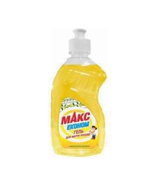 Гель Макс Економ Лимон д/миття посуду 450мл