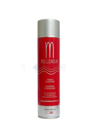 Лак для волосся Зелений чай або Жожоба Millenium 250 мл