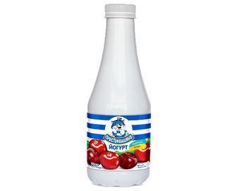 Йогурт «Простоквашино» вишня-черешня, 1,5%, 750г