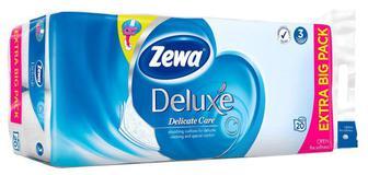 Папір туалетний Zewa Deluxe білий 3 шари, 20 шт.уп
