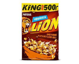Скидка 38% ▷ Готовий сніданок Nestle Lion, 500г