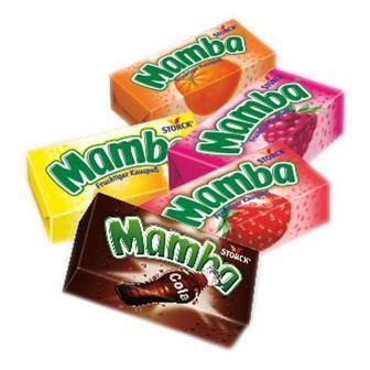 Скидка 34% ▷ Цукерки жувальні Mamba 26.5г