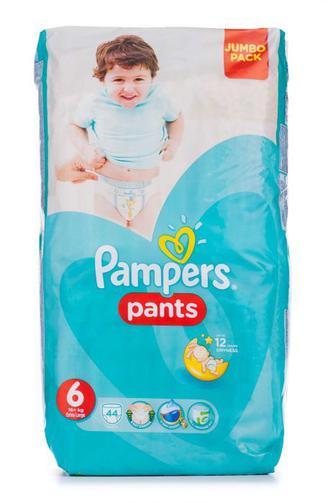 Подгузники-трусики PAMPERS Pants р6 15+ кг 44шт