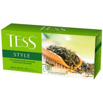 Чай Tess зелений Style 25шт