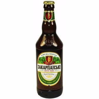 Пиво світле Закарпатське 0.5 л