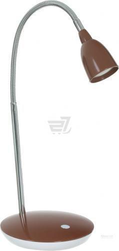 Настільна лампа Jazzway PTL-1215 4 Вт коричневий