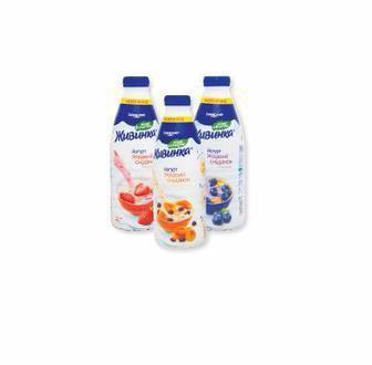 Йогурт питьевой 1,5% Живинка 850 г