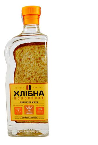 Горілка Хлібна половинка Пшенична М'яка, 0,45 л