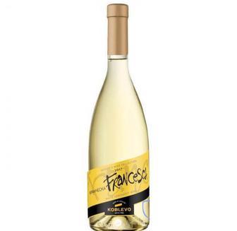 Вино Коблево Сомелье Франческа полусладкое белое, Koblevo 0,7 л.