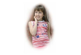 Безрукавка для девочек, 8 - 11 лет, 100 % хлопок