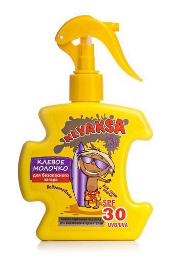 Молочко для безопасного загара Мой Каприз детское SPF 30 200 мл